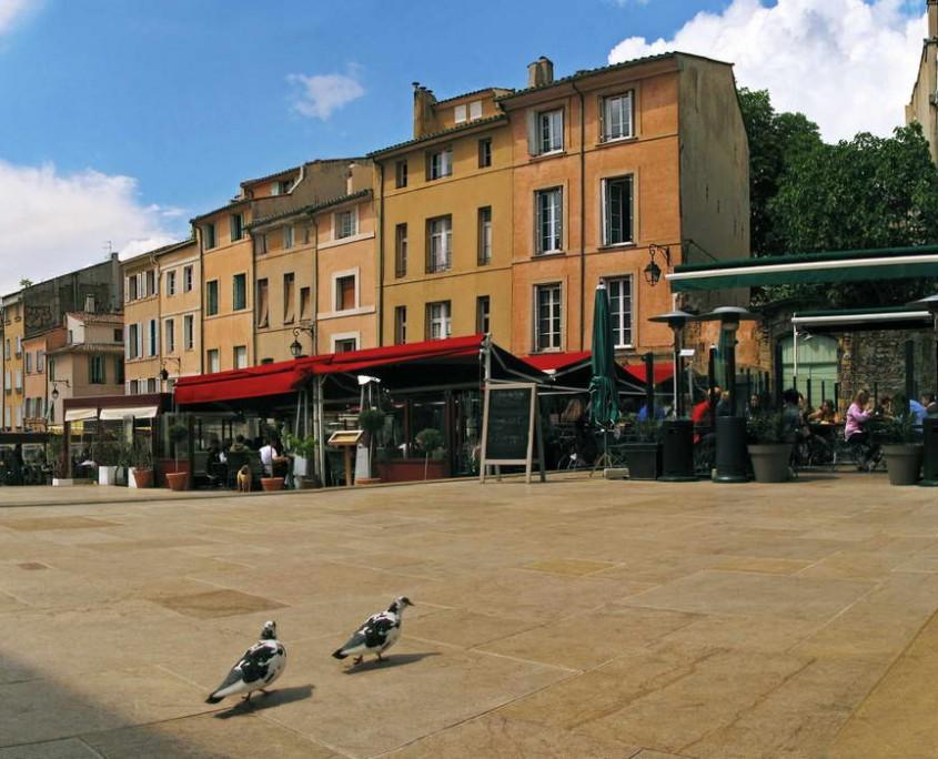 Place de l'Hotel de Ville - Aix En Provence - France
