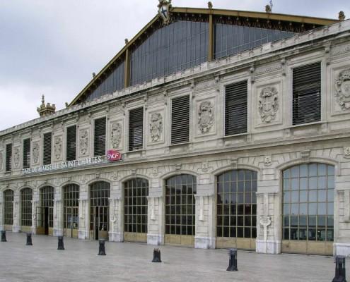 Gare de st Charles - Marseille France