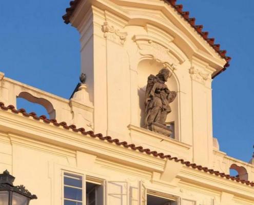 Hotel four seasons, Praga