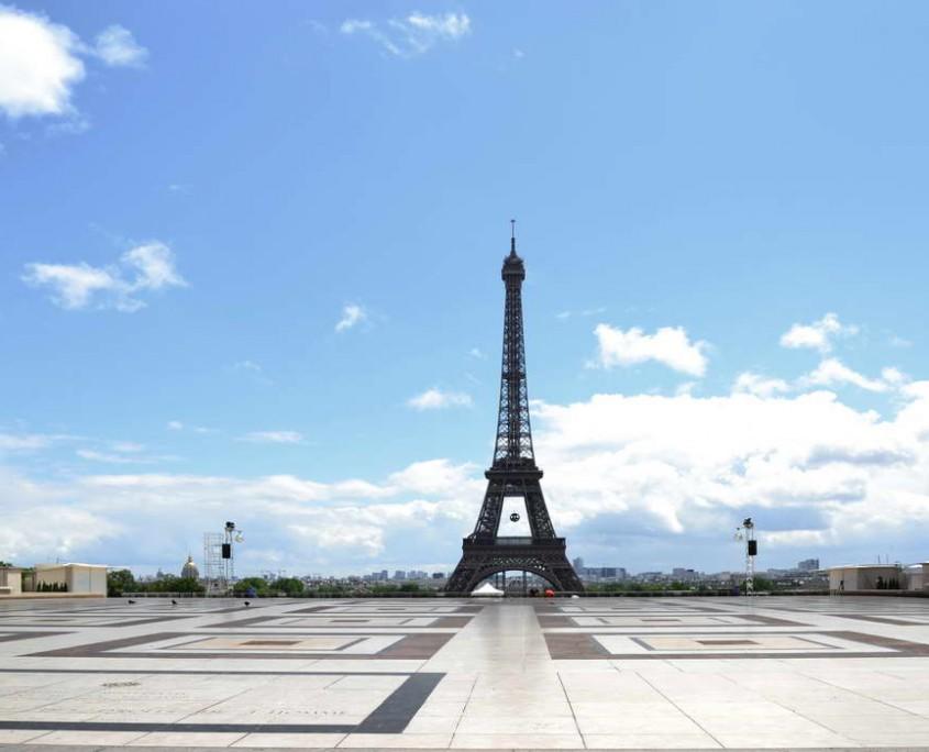 Piazzale trocadero - Parigi - Francia