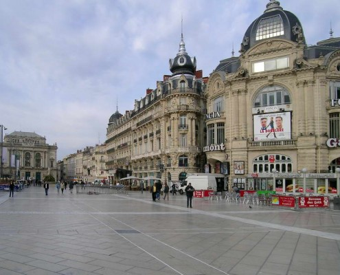 Place de la Comedie - Montpellier