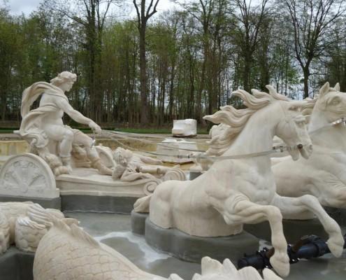 Bacino di Apollo - Castello di Louveciennes - Parigi